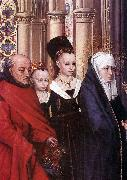 MEMLING, Hans The Presentation in the Temple (detail sg oil painting artist