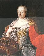 MEYTENS, Martin van Queen Maria Theresia sg oil painting artist