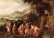 MOMPER, Joos de Helicon or Minerva's Visit to the Muses sg oil painting picture wholesale