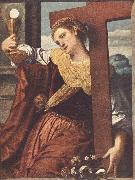MORETTO da Brescia Allegory of Faith sg oil painting artist
