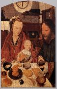 MOSTAERT, Jan The Holy Family at Table ag oil painting picture wholesale