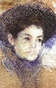 Mary Cassatt Portrait of a Woman  gg oil painting picture wholesale
