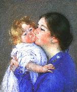 Mary Cassatt A Kiss for Baby Anne oil painting artist