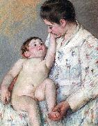 Mary Cassatt The Caress oil painting artist