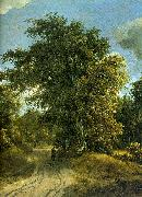 Meindert Hobbema Woodland Road oil painting picture wholesale