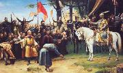 Mihaly Munkacsy The Conquest of Hungary oil painting picture wholesale