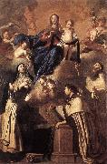 NOVELLI, Pietro Our Lady of Mount Carmel af oil painting artist