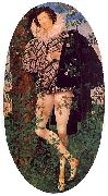 Nicholas Hilliard Young Man Leaning Against a Tree oil painting artist