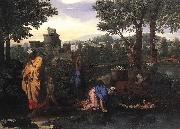 Nicolas Poussin Exposition of Moses oil painting picture wholesale