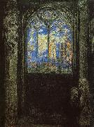 Odilon Redon Stained Glass Window oil painting picture wholesale