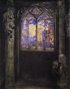 Odilon Redon Stained-Glass Window oil painting picture wholesale