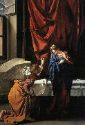 Orazio Gentileschi Annunciation   77 oil painting picture wholesale