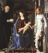 Pablo de San Leocadio The Virgin with a Knight of Montesa oil painting artist