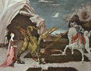 Paolo Ucello St.George and the Dragon oil painting picture wholesale