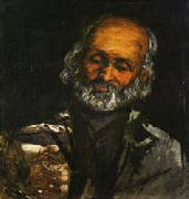 Paul Cezanne Head of and Old Man oil painting picture wholesale