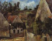 Paul Cezanne Crossroad of the rue Remy oil painting picture wholesale