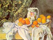Paul Cezanne Still Life with Drapery oil painting artist