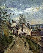 Paul Cezanne The House of Dr Gachet in Auvers Spain oil painting reproduction