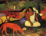 Paul Gauguin Arearea(Joyousness) oil painting picture wholesale