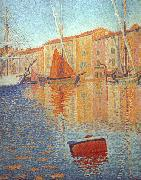 Paul Signac Red Buoy oil painting picture wholesale