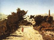 Paul-Camille Guigou La Gineste Road oil painting picture wholesale