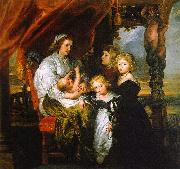 Peter Paul Rubens Deborah Kip and her Children oil painting artist
