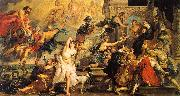 Peter Paul Rubens The Apotheosis of Henry IV and the Proclamation of the Regency of Marie de Medici on the 14th of May oil painting artist