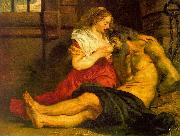 Peter Paul Rubens Roman Charity oil
