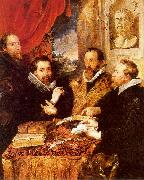 Peter Paul Rubens The Four Philosophers oil painting artist