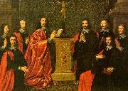 Philippe de Champaigne The Aldermen of the City of Paris oil painting picture wholesale