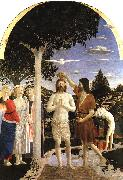 Piero della Francesca The Baptism of Christ 02 oil painting artist