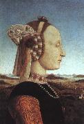 Piero della Francesca The Duchess of Urbino oil painting artist