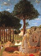 Piero della Francesca The Penance of St.Jerome oil painting artist