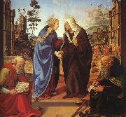 Piero di Cosimo The Visitation and Two Saints oil painting picture wholesale