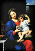 Pierre Mignard Madonna of the Grapes oil painting picture wholesale
