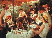 Pierre Renoir Luncheon of the Boating Party oil painting
