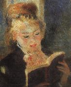 Pierre Renoir Woman Reading  fff oil painting picture wholesale