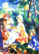 Pierre Renoir The Apple Seller oil painting picture wholesale