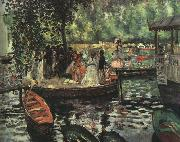 Pierre Renoir La Grenouillere oil painting picture wholesale