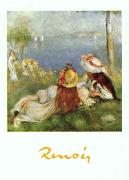 Pierre Renoir Young Girls by the Seaside oil painting picture wholesale