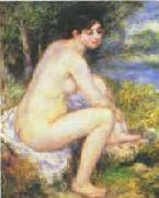 Pierre Renoir  Female Nude in a Landscape oil painting picture wholesale