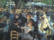Pierre Renoir The Ball at the Moulin  de la Galette oil painting picture wholesale