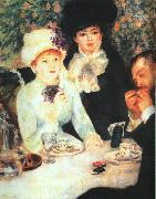 Pierre Renoir The End of the Luncheon oil painting picture wholesale