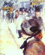 Pierre Renoir Place Clichy oil painting picture wholesale