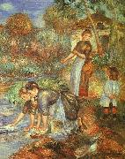 Pierre Renoir Washerwoman oil painting picture wholesale
