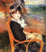 Pierre Renoir By the Seashore oil painting picture wholesale