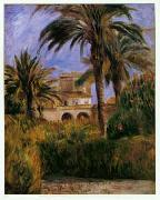 Pierre Renoir The Test Garden in Algiers oil painting picture wholesale