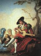 Ramon Bayeu Boy with Guitar Spain oil painting reproduction