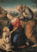 Raphael The Holy Family with a Lamb oil painting artist