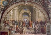 Raphael The School of Athens oil painting artist